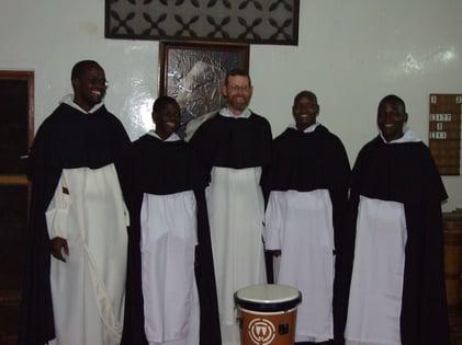 1st novitiate class Kisumu