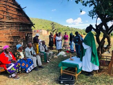 Priest Celebrating Mass_Kenya
