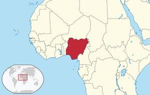 nigeriaonmap